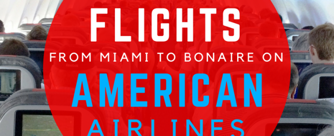American Airlines to Bonaire