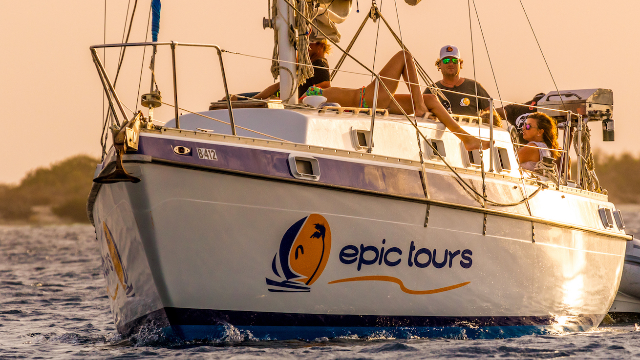 Epic Tours Bonaire Sailing