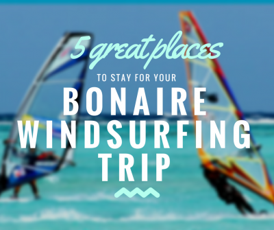 Windsurfing accommodation Bonaire