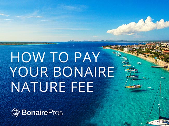 How to Pay Your Bonaire Nature Fee